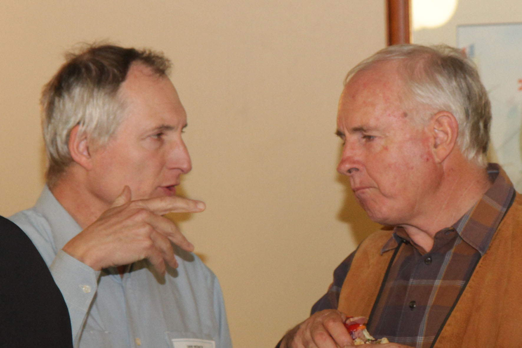 Jan Mink (left) and Andrew Skinner (right)