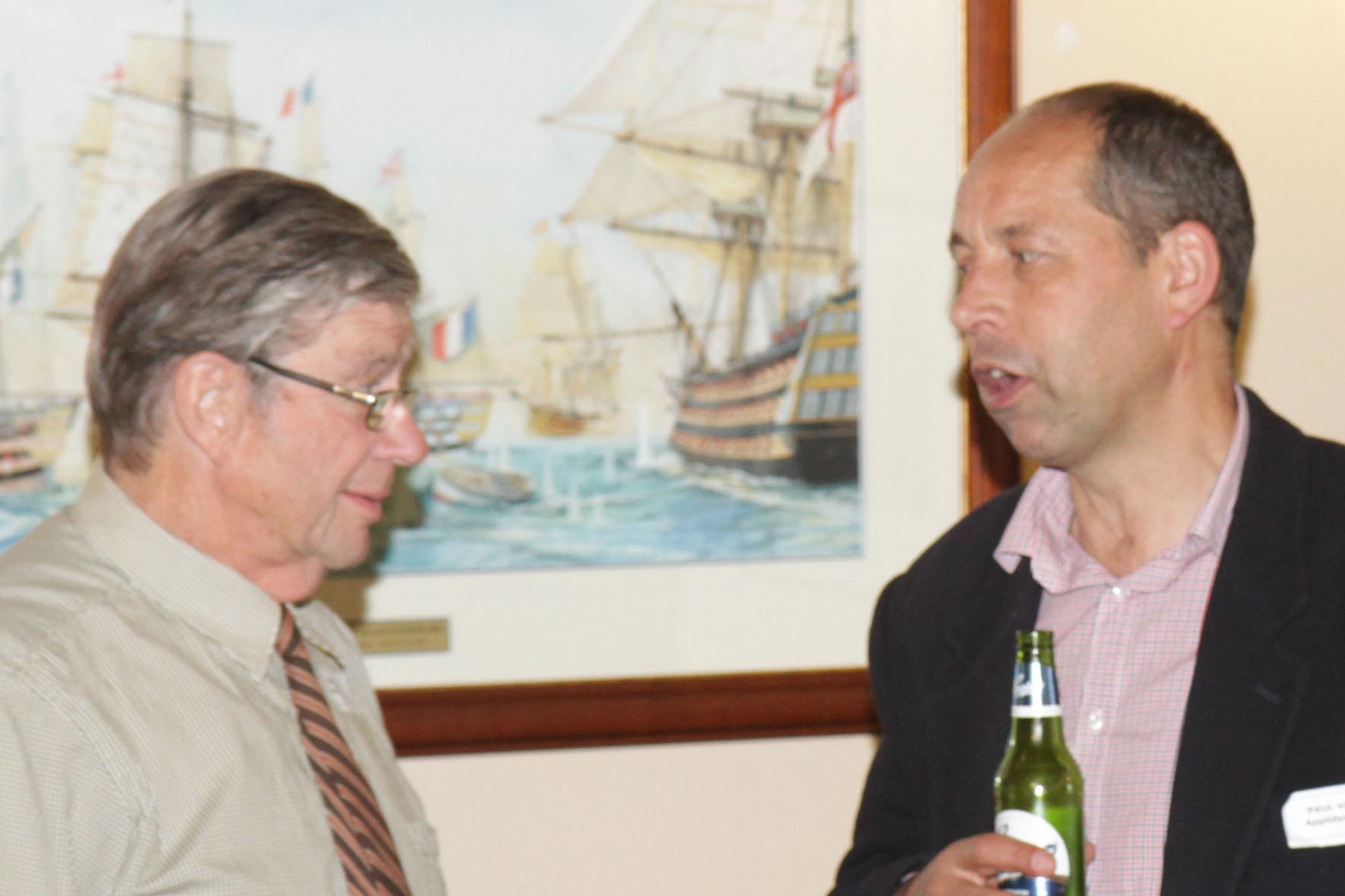 John Brooks (left) and Paul van de Loo (right)