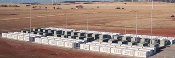 Image: Neoen   Lithium-Ion battery at  Hornsdale Power Reserve near Jamestown, South Australia