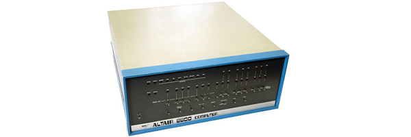 The Altair 8800 computer